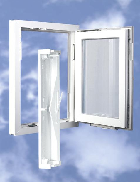 REGEL-air® K typ RF do okien plastikowych